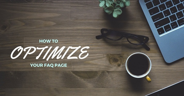 Search Engine Optimization for FAQ pags