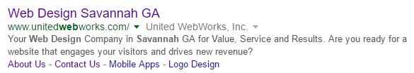 Local SEO United WebWorks Savannah GA