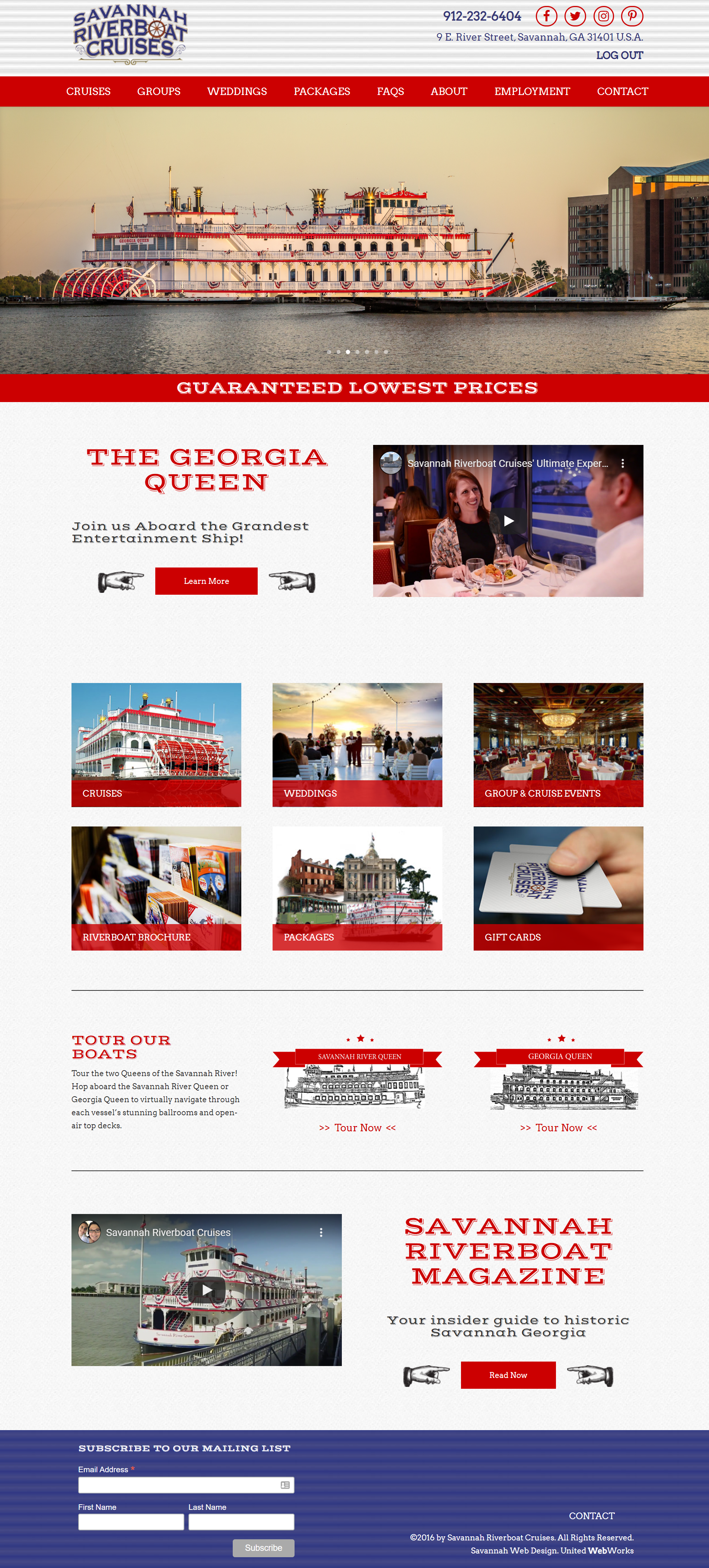 Tourism industry website company